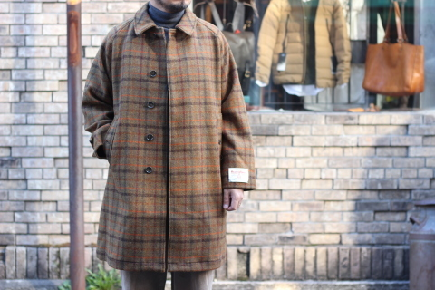 "「WORKERS」 ""Bal Collar Coat, Harris Tweed\"" ご紹介_f0191324_07592870.jpg"