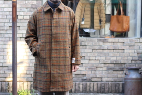 "「WORKERS」 ""Bal Collar Coat, Harris Tweed\"" ご紹介_f0191324_07593693.jpg"