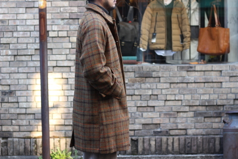 "「WORKERS」 ""Bal Collar Coat, Harris Tweed\"" ご紹介_f0191324_07594287.jpg"
