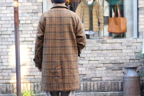 "「WORKERS」 ""Bal Collar Coat, Harris Tweed\"" ご紹介_f0191324_07594974.jpg"