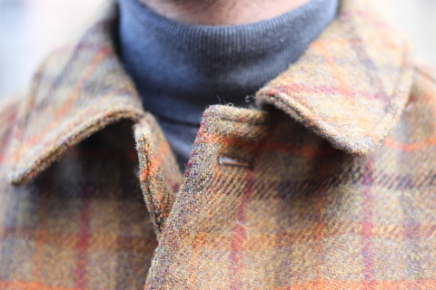 "「WORKERS」 ""Bal Collar Coat, Harris Tweed\"" ご紹介_f0191324_07595902.jpg"