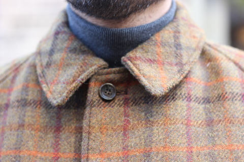 "「WORKERS」 ""Bal Collar Coat, Harris Tweed\"" ご紹介_f0191324_08000799.jpg"