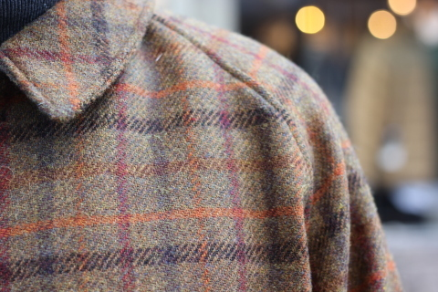 "「WORKERS」 ""Bal Collar Coat, Harris Tweed\"" ご紹介_f0191324_08003743.jpg"