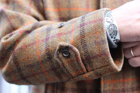 "「WORKERS」 ""Bal Collar Coat, Harris Tweed\"" ご紹介_f0191324_08004644.jpg"