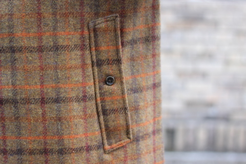 "「WORKERS」 ""Bal Collar Coat, Harris Tweed\"" ご紹介_f0191324_08005246.jpg"