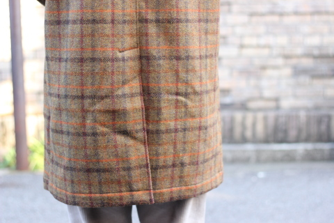 "「WORKERS」 ""Bal Collar Coat, Harris Tweed\"" ご紹介_f0191324_08010842.jpg"