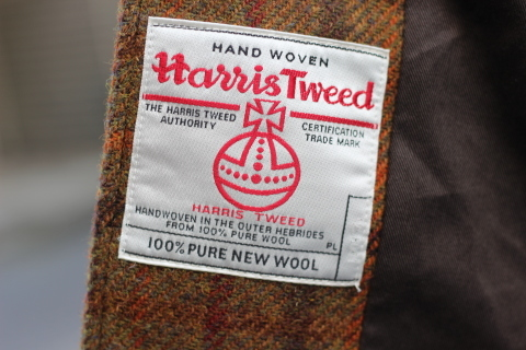 "「WORKERS」 ""Bal Collar Coat, Harris Tweed\"" ご紹介_f0191324_08011763.jpg"