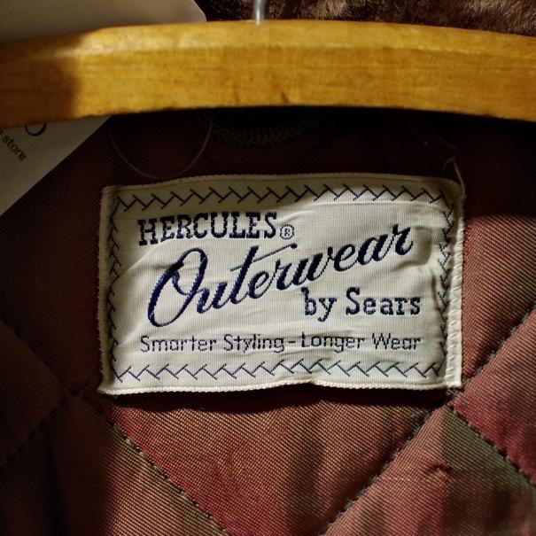 1950-60s HERCULES Outerwear by SEARS B-9 Style Cotton Parka_d0257333_20391252.jpg
