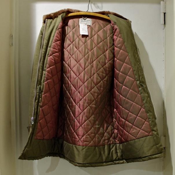 1950-60s HERCULES Outerwear by SEARS B-9 Style Cotton Parka_d0257333_20393899.jpg