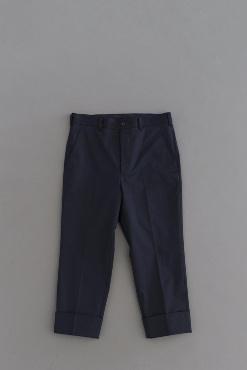 COMME des GARCONS HOMME High density Chino Stretch 8/10 Trouser (Navy)_d0120442_1238523.jpg
