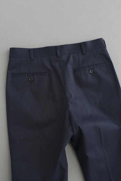 COMME des GARCONS HOMME High density Chino Stretch 8/10 Trouser (Navy)_d0120442_15223540.jpg
