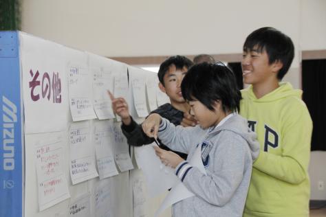 東小学校の6年生が東地区の未来を考える_f0237658_14461197.jpg
