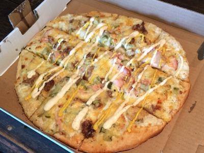 チーズ屋さんのピザ_c0353373_20335930.jpg