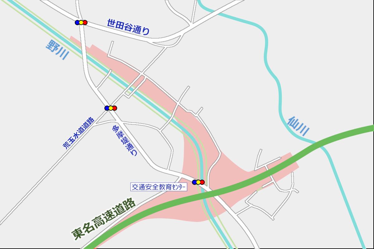 外環道(仮称)東名JCT付近 2019年9月の状況_a0332275_00224041.png
