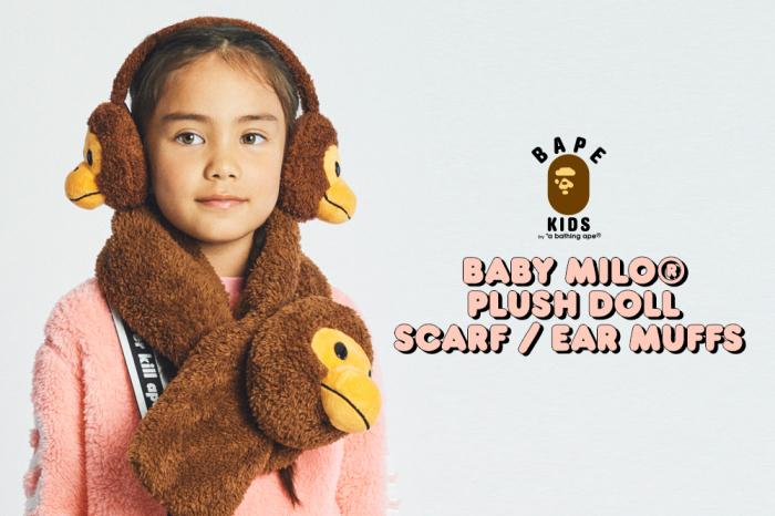 BABY MILO® PLUSH DOLL SCARF / BABY MILO® PLUSH DOLL EAR MUFFS_a0174495_13153248.jpg