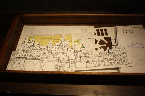 石井希の仕事展 「水辺の町」「魔女の館」_a0260022_01404025.jpg