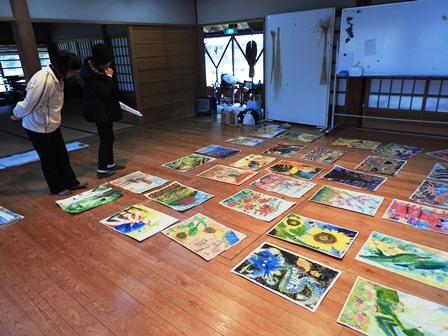 さとの文化祭、作品審査_a0123836_16013659.jpg