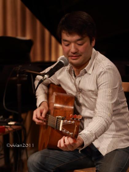 小川倫生『冬の言葉』CD発売記念スペシャルライブ in Cafe ink blue_e0227942_14000272.jpg