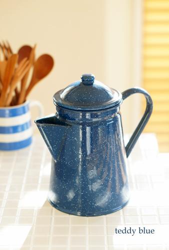 Enamel coffee pot  ホーローのコーヒーポット_e0253364_11520193.jpg
