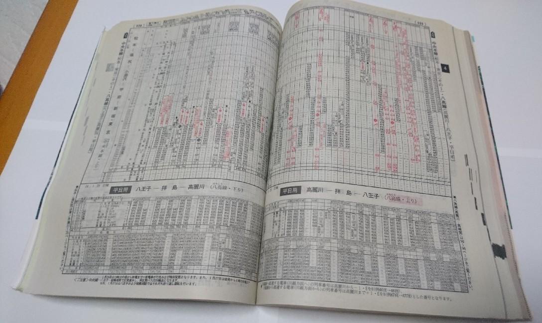 JR時刻表2002年2月号、あずさ2号復活!JR北海道旅客鉄道株式会社、発行所、交通新聞社_b0106766_19392439.jpg