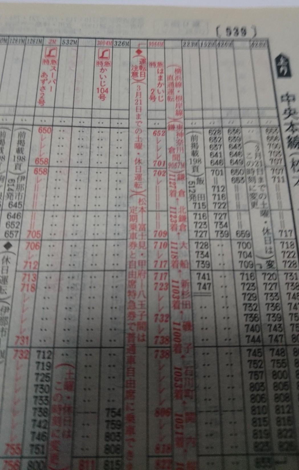 JR時刻表2002年2月号、あずさ2号復活!JR北海道旅客鉄道株式会社、発行所、交通新聞社_b0106766_19392443.jpg