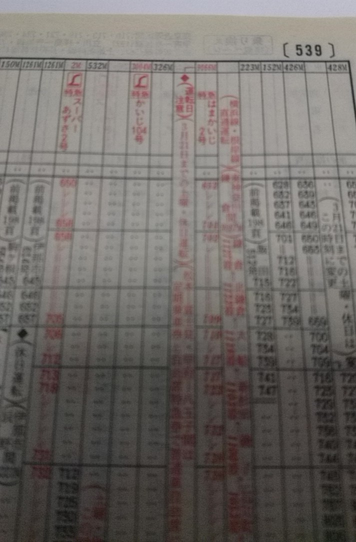 JR時刻表2002年2月号、あずさ2号復活!JR北海道旅客鉄道株式会社、発行所、交通新聞社_b0106766_19392469.jpg
