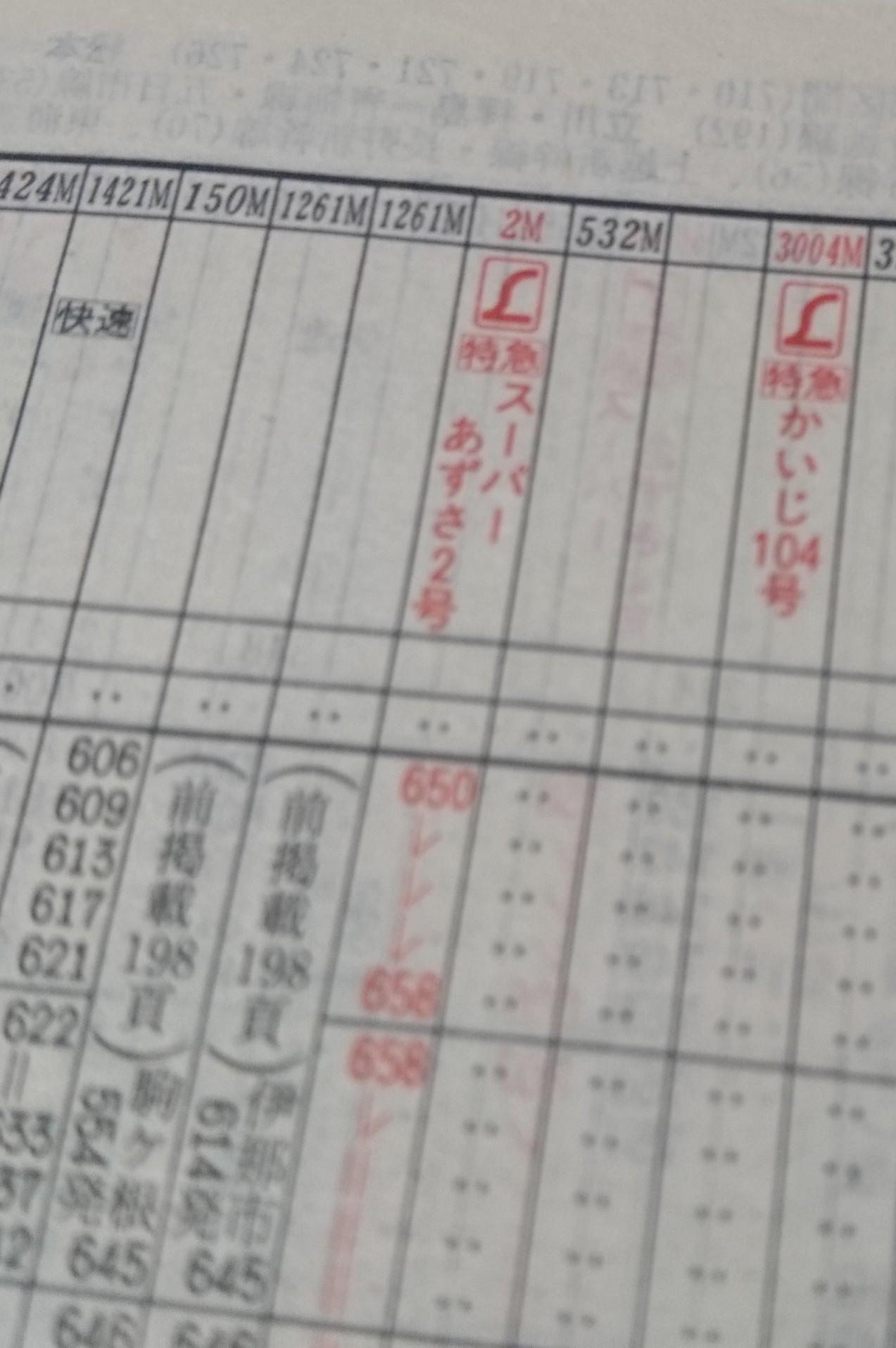 JR時刻表2002年2月号、あずさ2号復活!JR北海道旅客鉄道株式会社、発行所、交通新聞社_b0106766_19392483.jpg