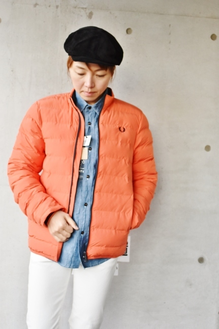FRED PERRY   Light DOWN JACKET ★★_d0152280_08390349.jpg