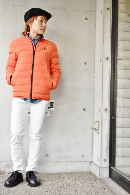 FRED PERRY   Light DOWN JACKET ★★_d0152280_08391877.jpg