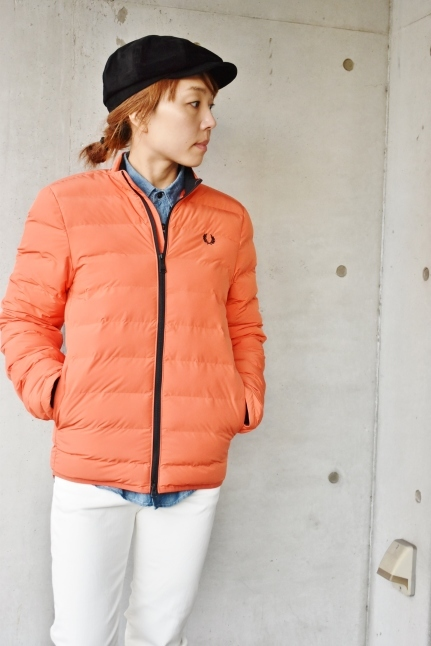 FRED PERRY   Light DOWN JACKET ★★_d0152280_08393096.jpg