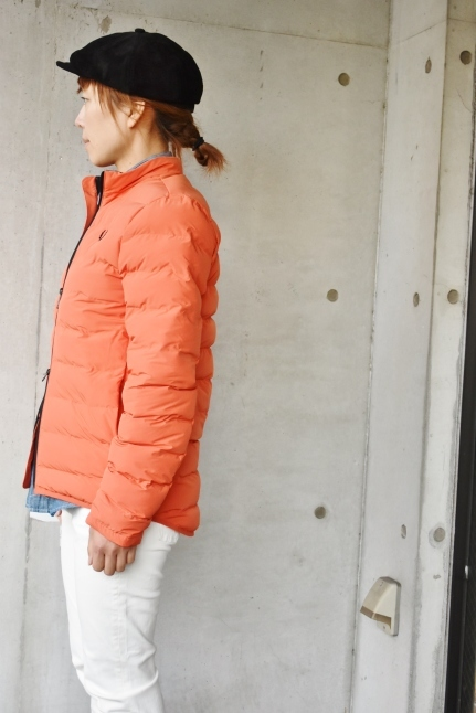 FRED PERRY   Light DOWN JACKET ★★_d0152280_08394886.jpg