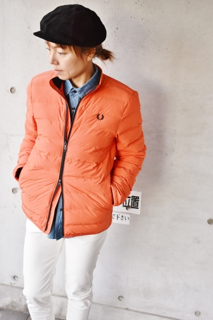 FRED PERRY   Light DOWN JACKET ★★_d0152280_08400961.jpg