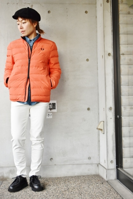 FRED PERRY   Light DOWN JACKET ★★_d0152280_08402050.jpg