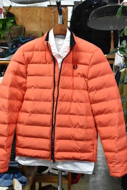 FRED PERRY   Light DOWN JACKET ★★_d0152280_08430145.jpg