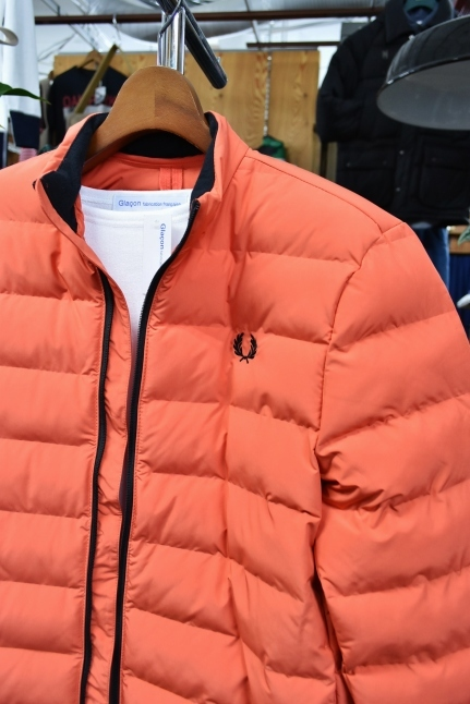 FRED PERRY   Light DOWN JACKET ★★_d0152280_08434315.jpg