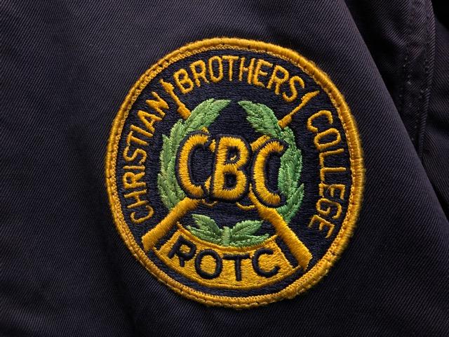 11月13日(水)マグネッツ大阪店ヴィンテージ入荷!!#1 U.S.Military Part1編! 40\'s~50\'s ROTC CadetJKT & ROTC AthleticCardigan!!_c0078587_19292597.jpg