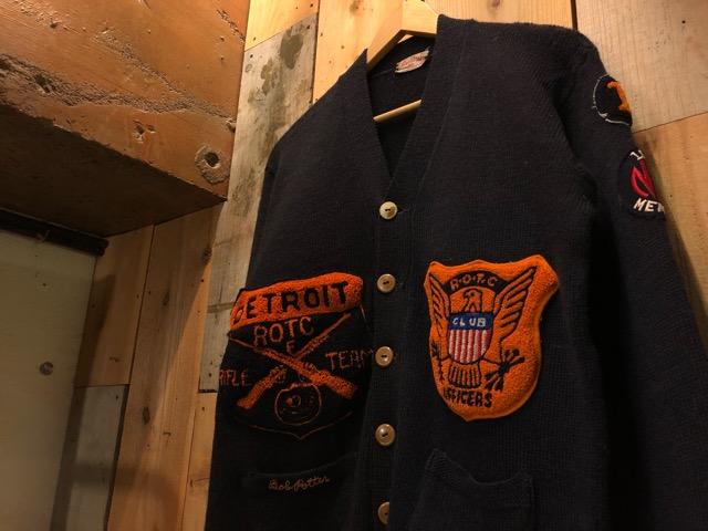 11月13日(水)マグネッツ大阪店ヴィンテージ入荷!!#1 U.S.Military Part1編! 40\'s~50\'s ROTC CadetJKT & ROTC AthleticCardigan!!_c0078587_19352099.jpg