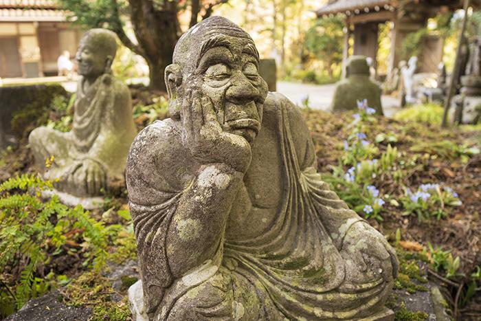 秋の箱根長安寺 五百羅漢さん_b0145398_16312745.jpg