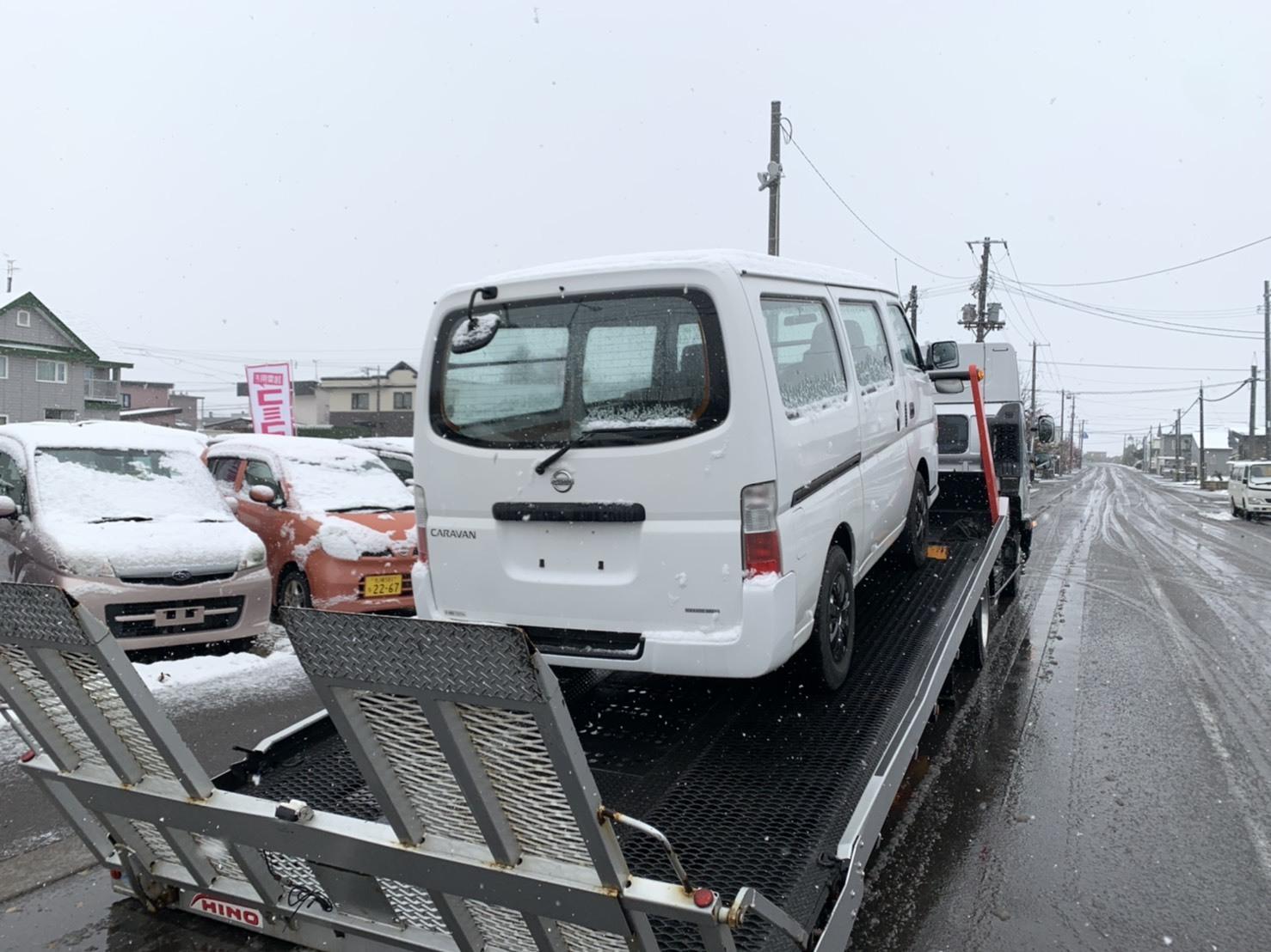 11月15日(金)アウディA6 T様納車✨ 除雪車あります✊ランクル エスカレード ヴェルファイア ♡TOMMY♡_b0127002_16415944.jpg