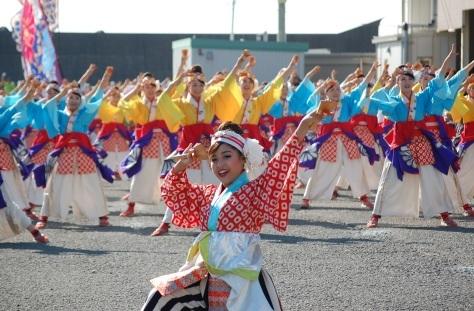 「よさこい東海道」開催!_d0050503_19361807.jpg