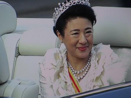 982)新天皇皇后様 祝賀パレード。_b0029010_20223167.jpg