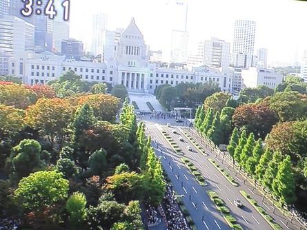 982)新天皇皇后様 祝賀パレード。_b0029010_20243334.jpg