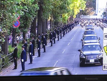 982)新天皇皇后様 祝賀パレード。_b0029010_2024733.jpg