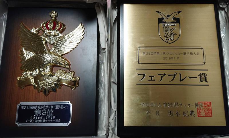 神奈川県少女サッカー選手権大会 第3位_f0375011_22522542.jpg