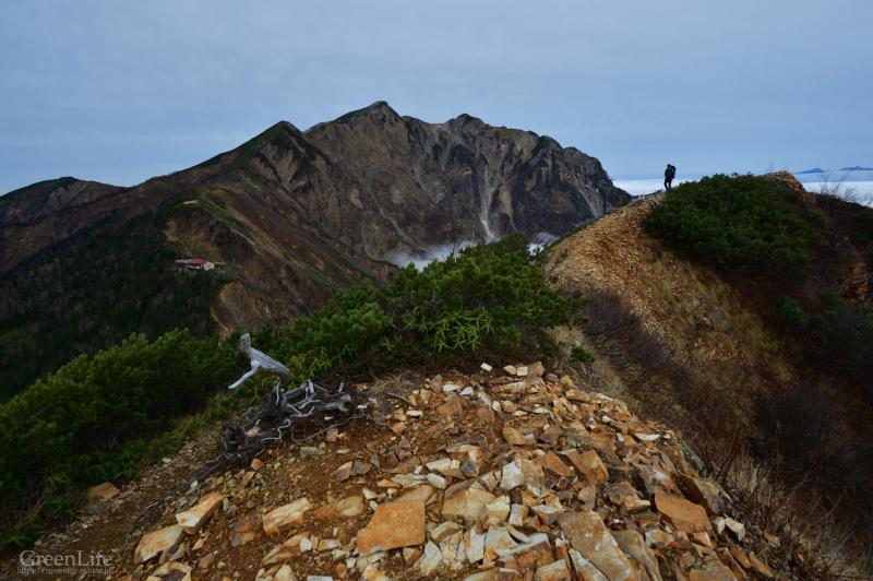 晩秋の山々へ 〜鹿島槍ヶ岳〜_f0321522_18295215.jpg