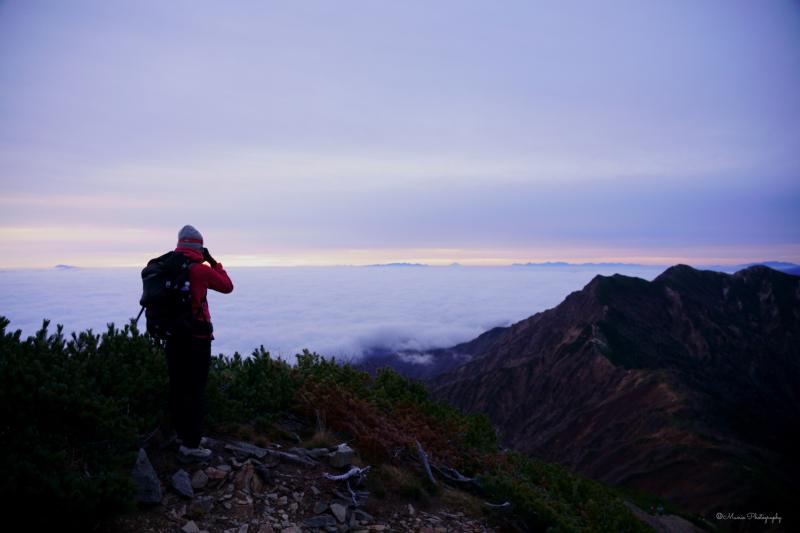 晩秋の山々へ 〜鹿島槍ヶ岳〜_f0321522_20501581.jpg