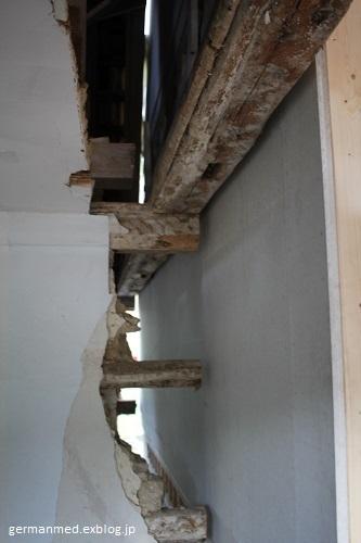 工事四日後の内側_d0144726_04344115.jpg
