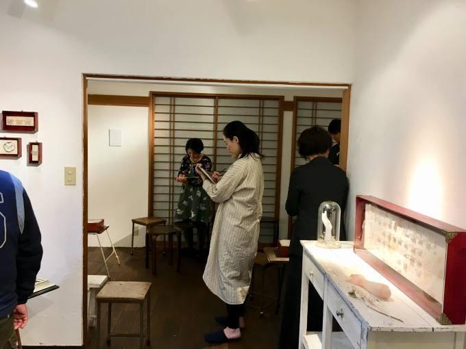 関野栄美展 午後の森を歩くように歩くように アート鑑賞会_d0347031_15545898.jpg