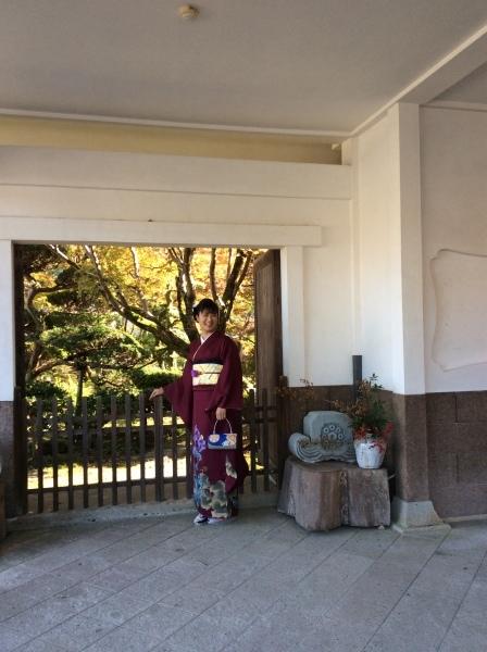 成人式の前撮り「芭蕉の館」①_f0289632_17275630.jpg