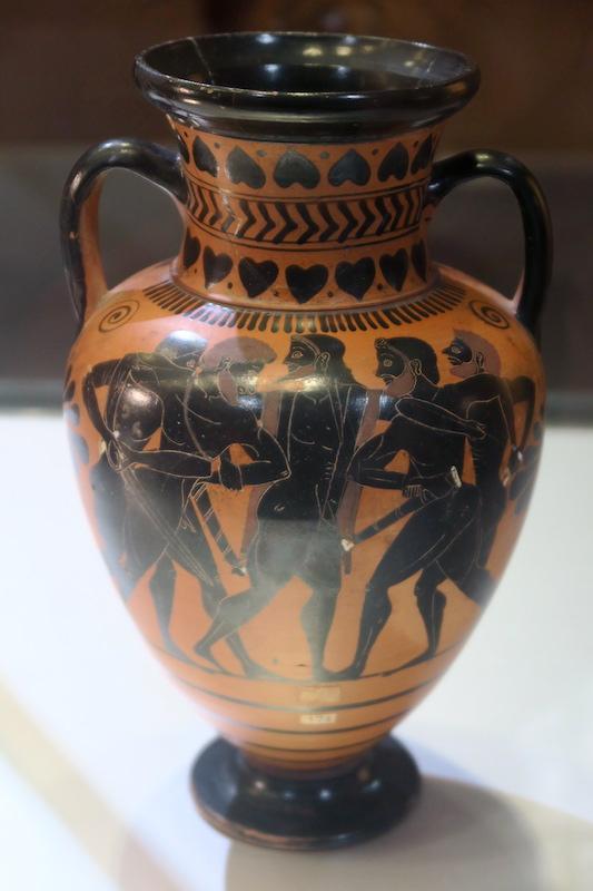 秋色の森の緑のハートと古代ギリシャ・エトルリア芸術_f0234936_8535228.jpg